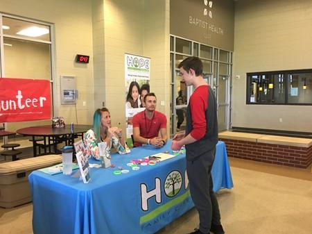 Nonprofit Volunteer Fair at MCHS