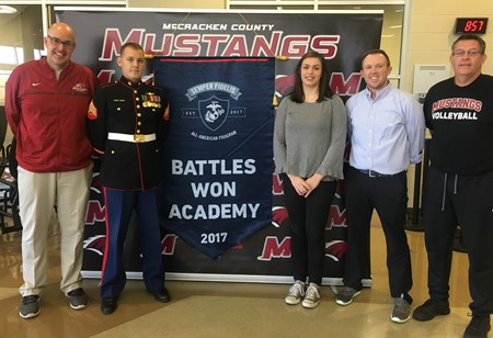 MCHS Student Named  Semper-Fidelis All-American