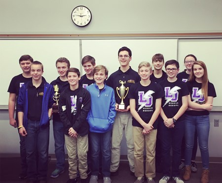 LOMS Takes First Place at WKAA Academic Bowl