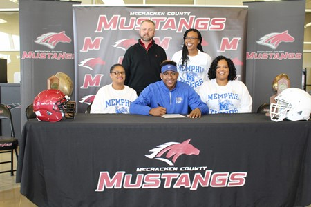 MCHS Senior Signs with the University of Memphis