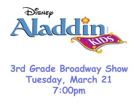 LOE Presents Aladdin