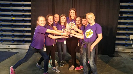 LOI STLP Placed Second at the Annual STLP State Competition