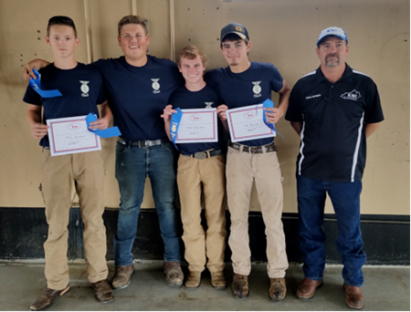 State Runners-up in Arc Welding