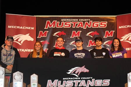 MCHS Scholarship Signings