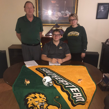 MCHS Student Signs With Southeastern Louisiana University