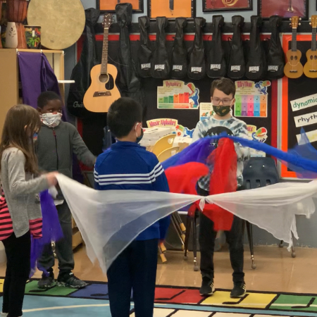 Lone Oak Elementary Celebrates Black History Month In Music Class
