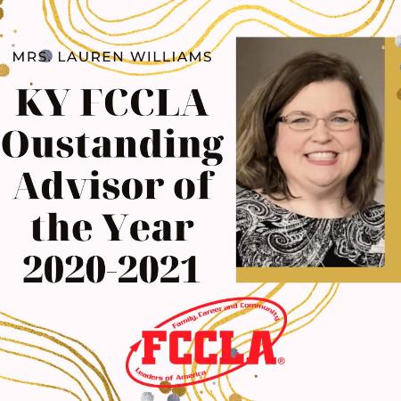 MCHS Teacher Named KY FCCLA Outstanding Advisor of the Year