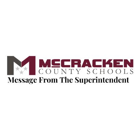 Message From Superintendent Steve Carter- December 18
