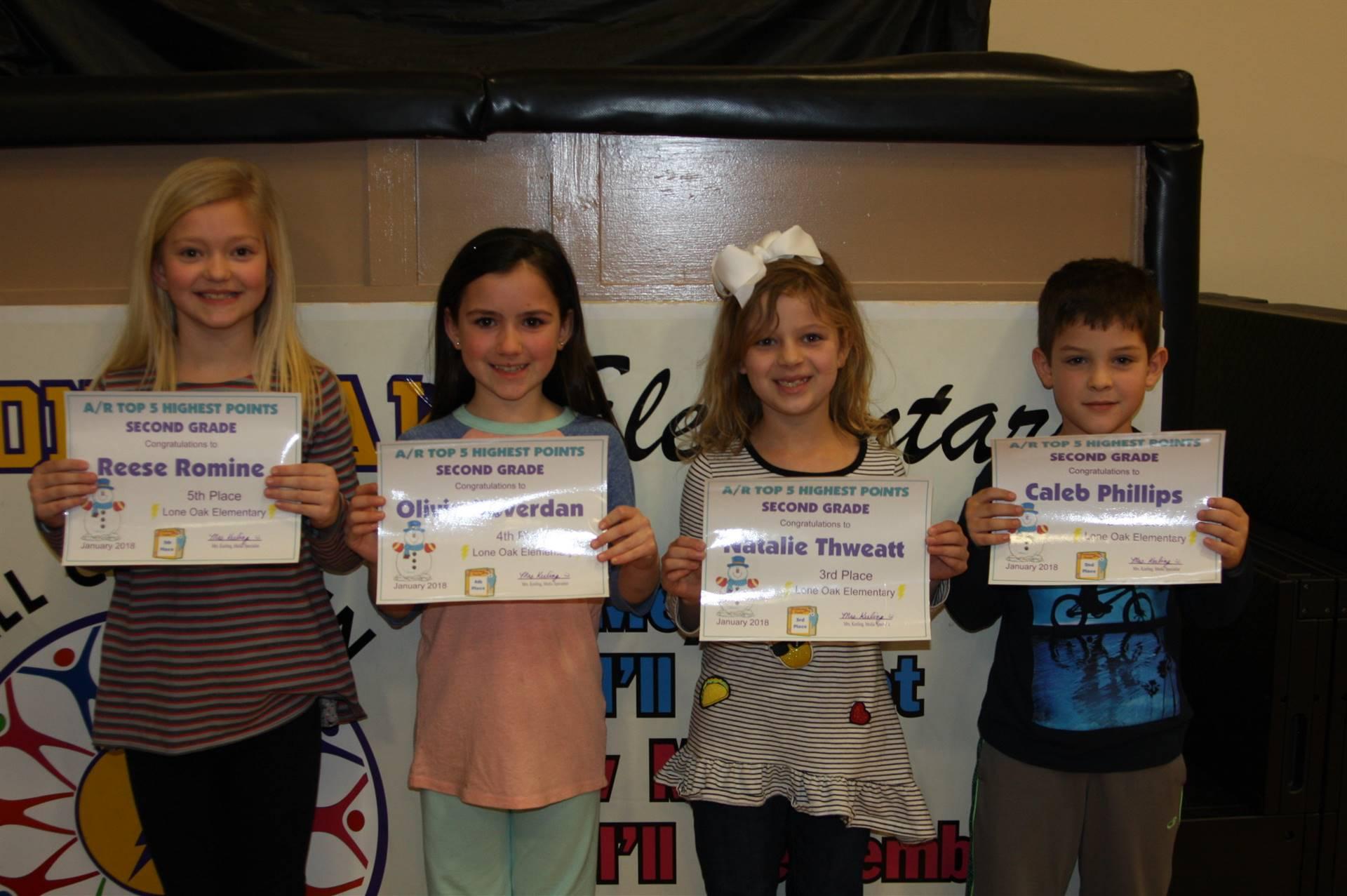 2nd Grade AR Awards