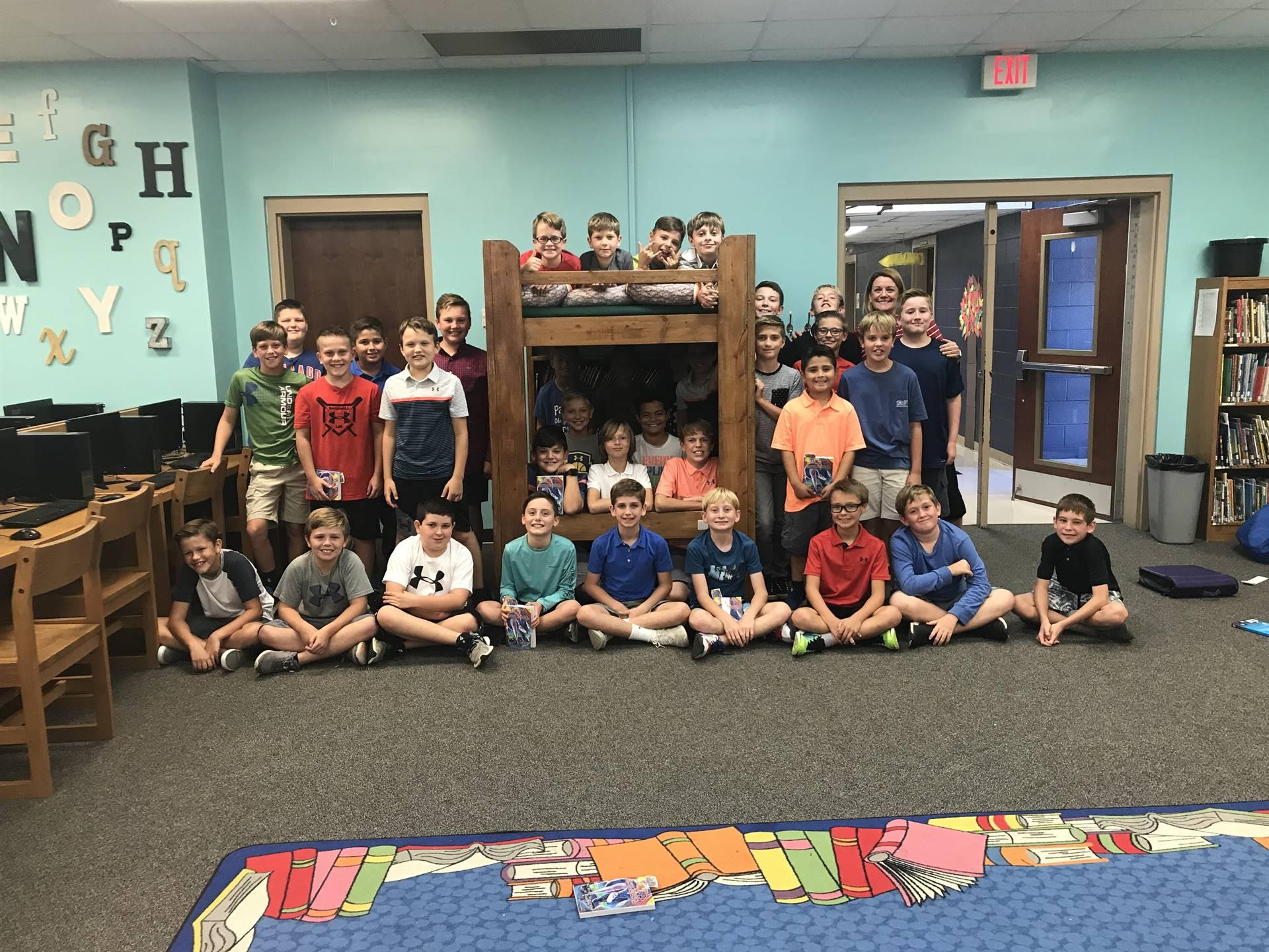 4th and 5th Grade Boys Book Club