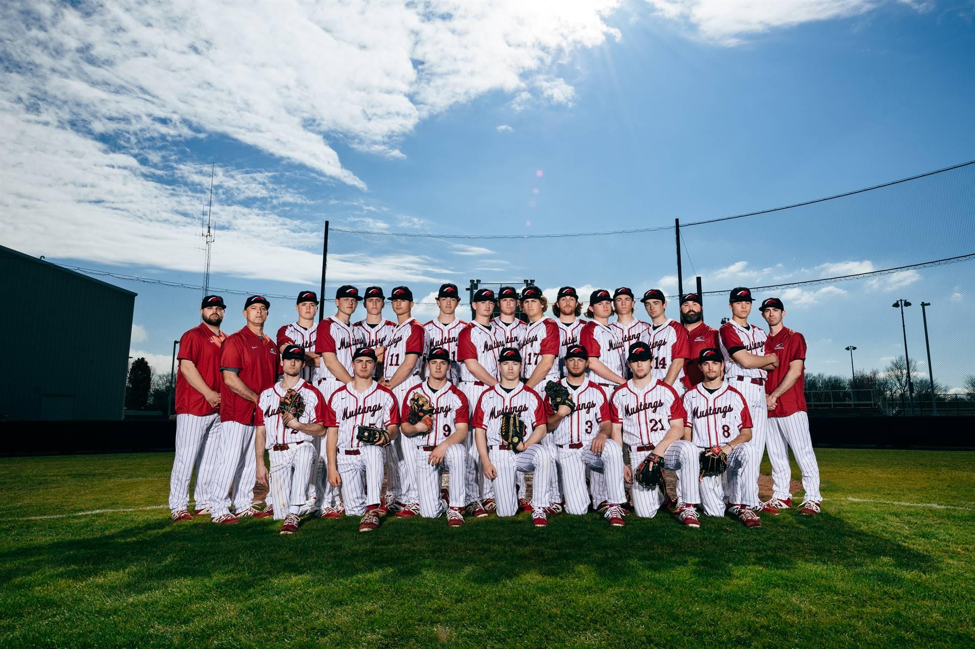 Mustangs Varsity Baseball 2019-20