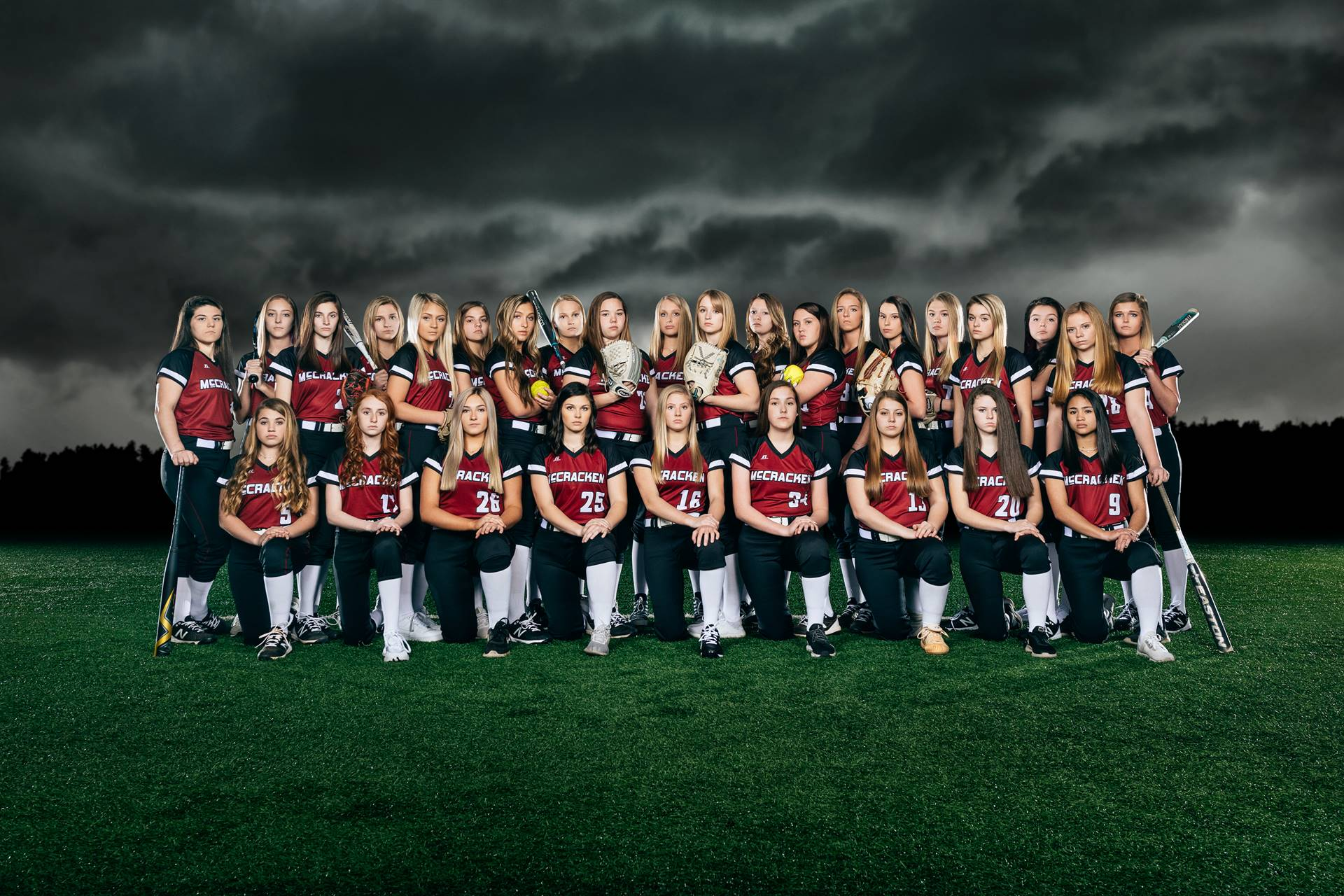 Mustangs Varsity Softball 2019-20