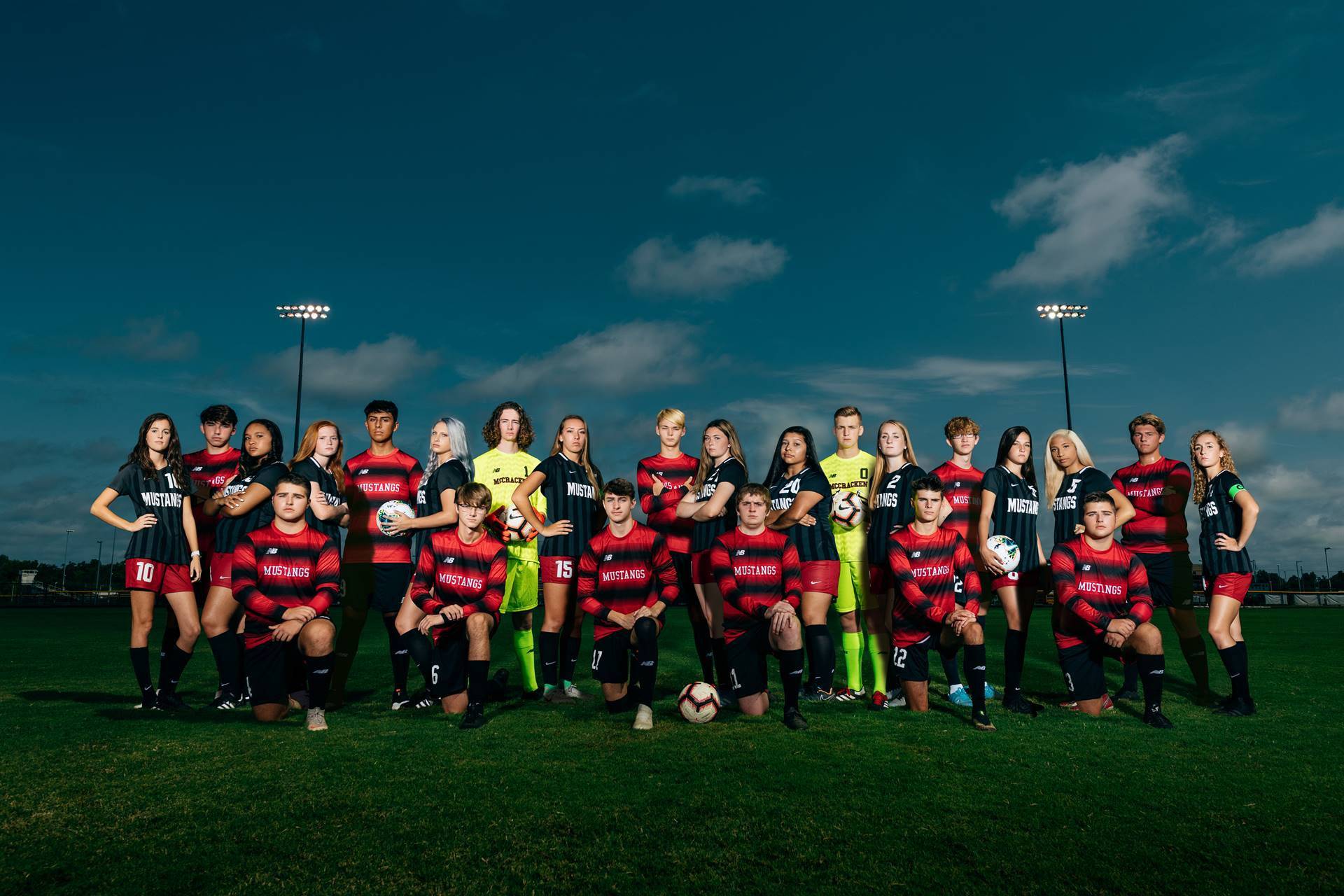 Mustangs Soccer 2020-21 Seniors