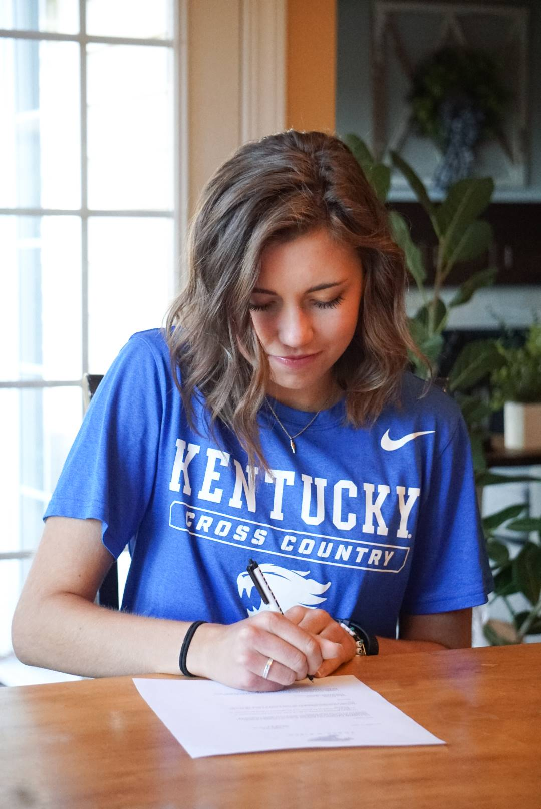 Maggie Aydt signs with the University of Kentucky for Cross Country/Track and Field