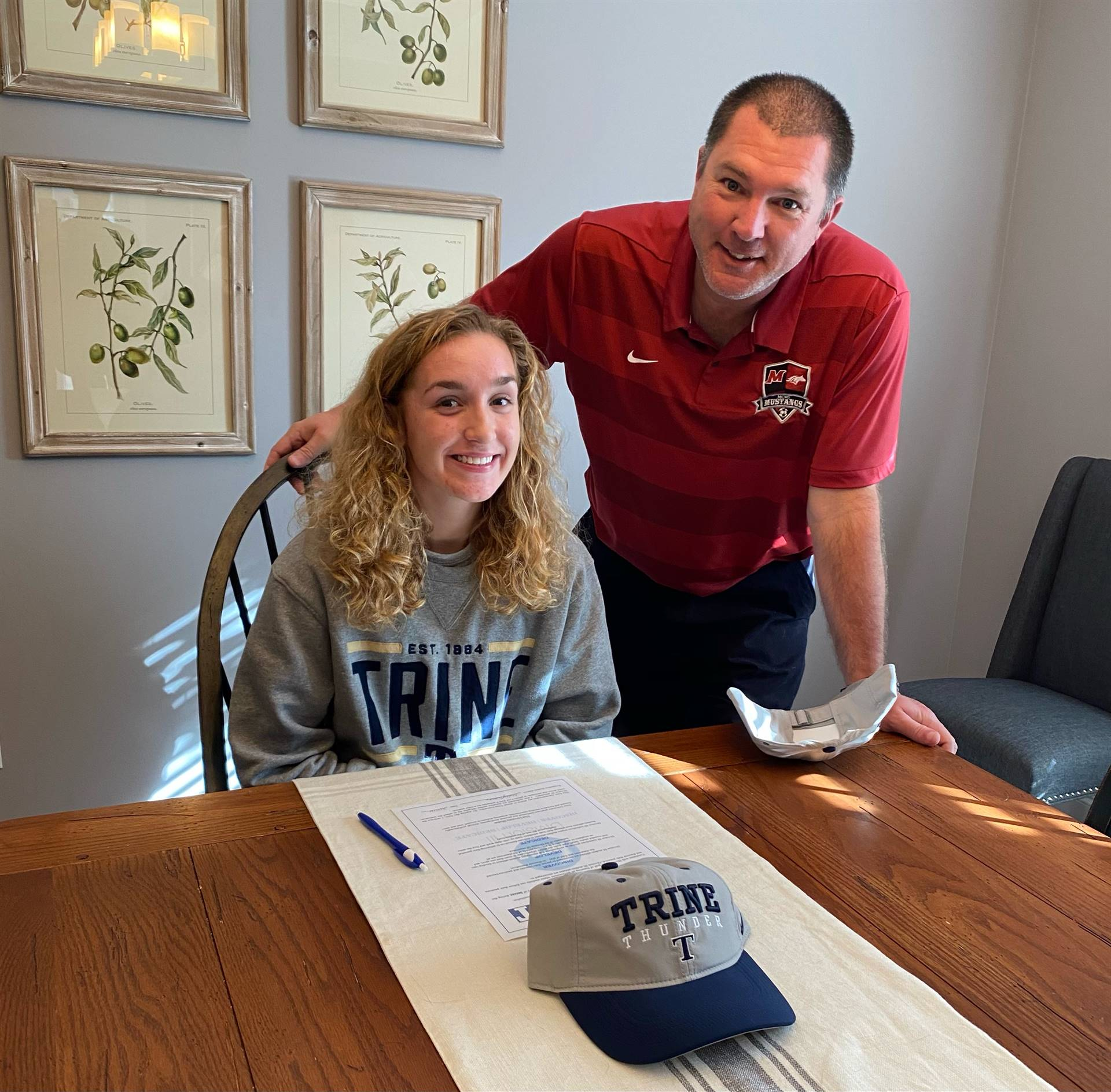 Molly Thomas signs with Trine University to play soccer