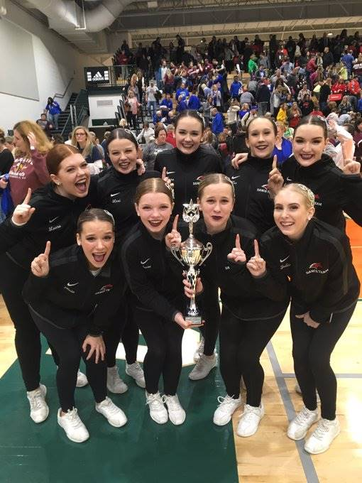 Mustangs Dance Team - 2019 KDCO State Champions in POM!!