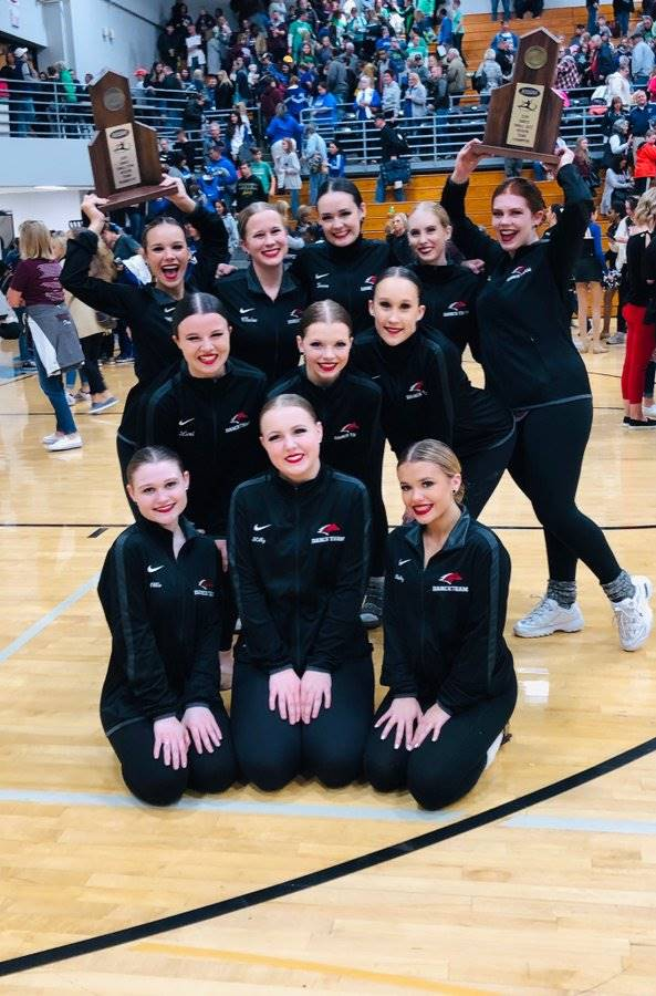 Mustangs Dance Team - Sectional Champions in Jazz (1st) and Pom (2nd)!!