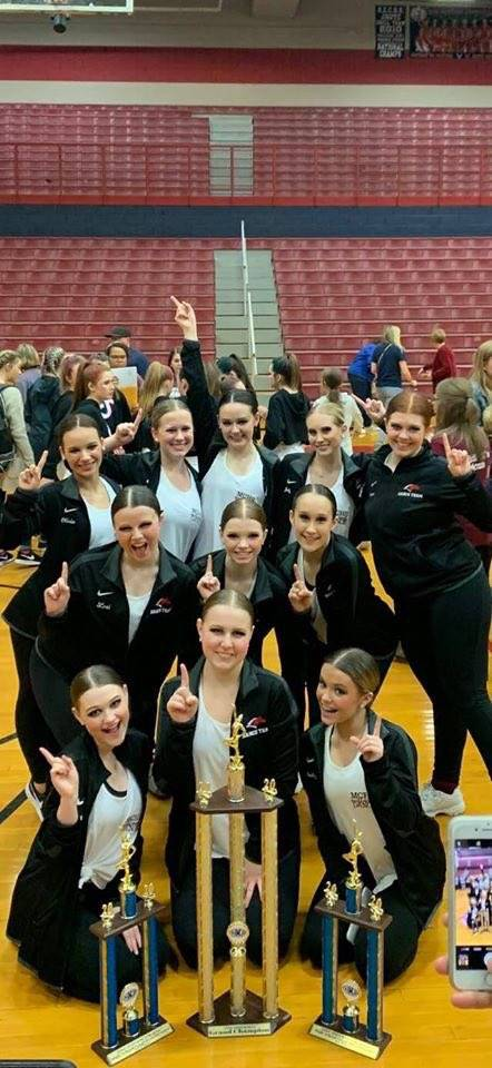 Congratulations Mustangs Dance Team - 2020 KDCO Regionals - 1st Place in Pom & Jazz. Overall GRAND C