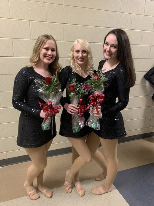 Recognizing our 2019-20 Mustang Dance Team Seniors!