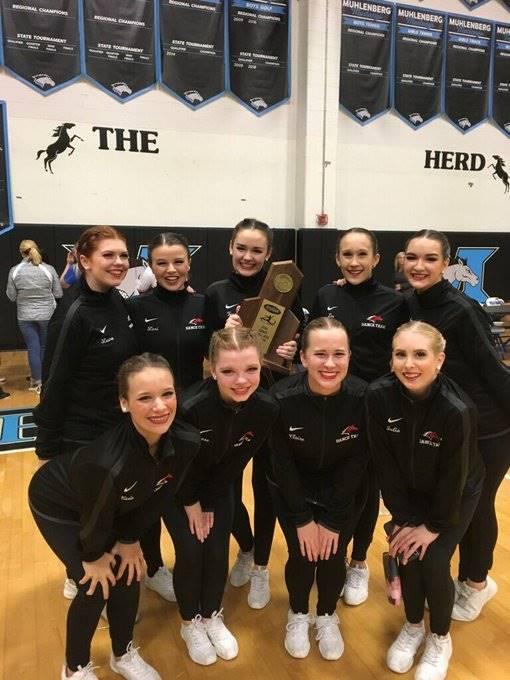 Mustangs Dance Team - 2018 KHSAA Sectional Champions!