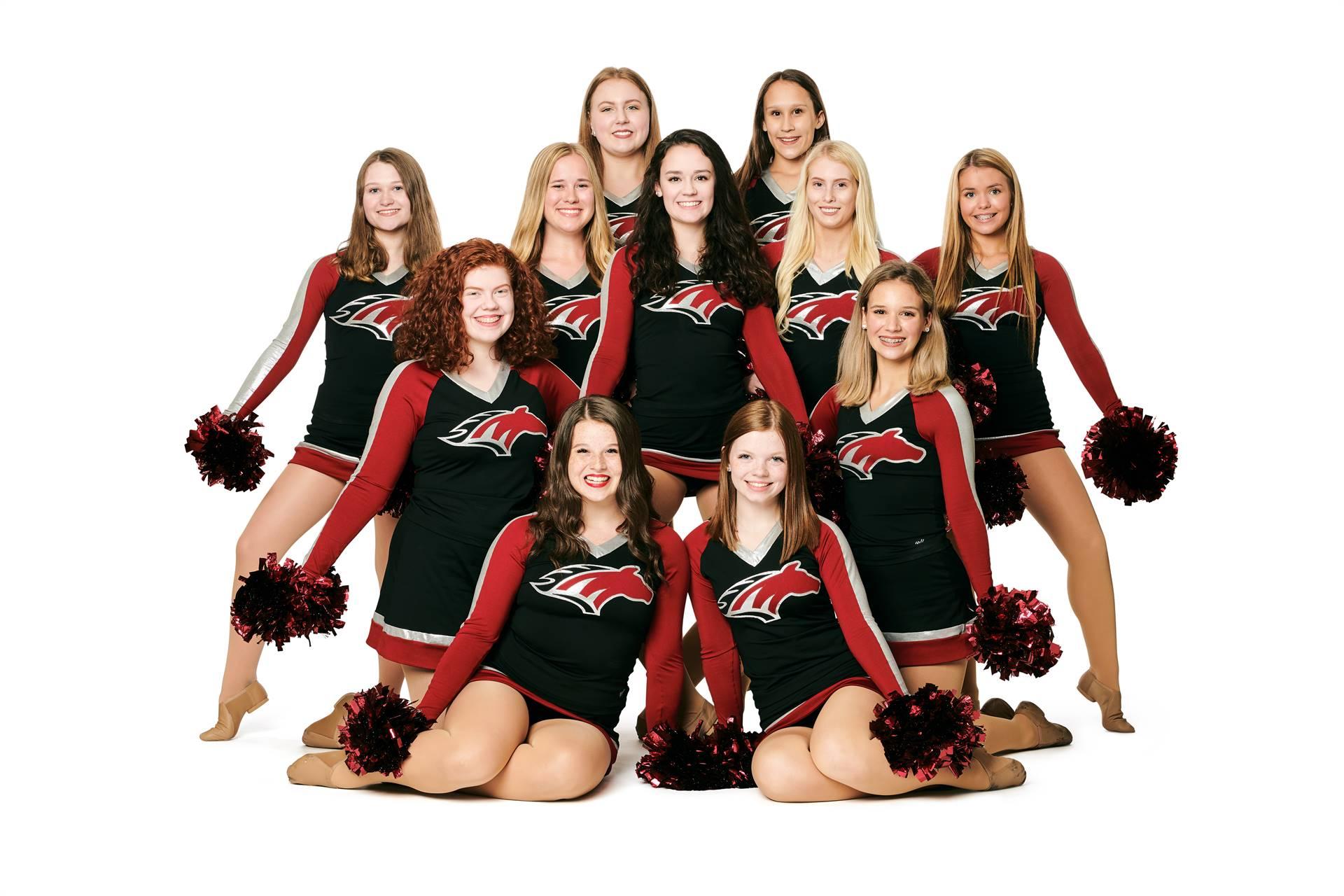 Mustangs Dance Team 2019-20