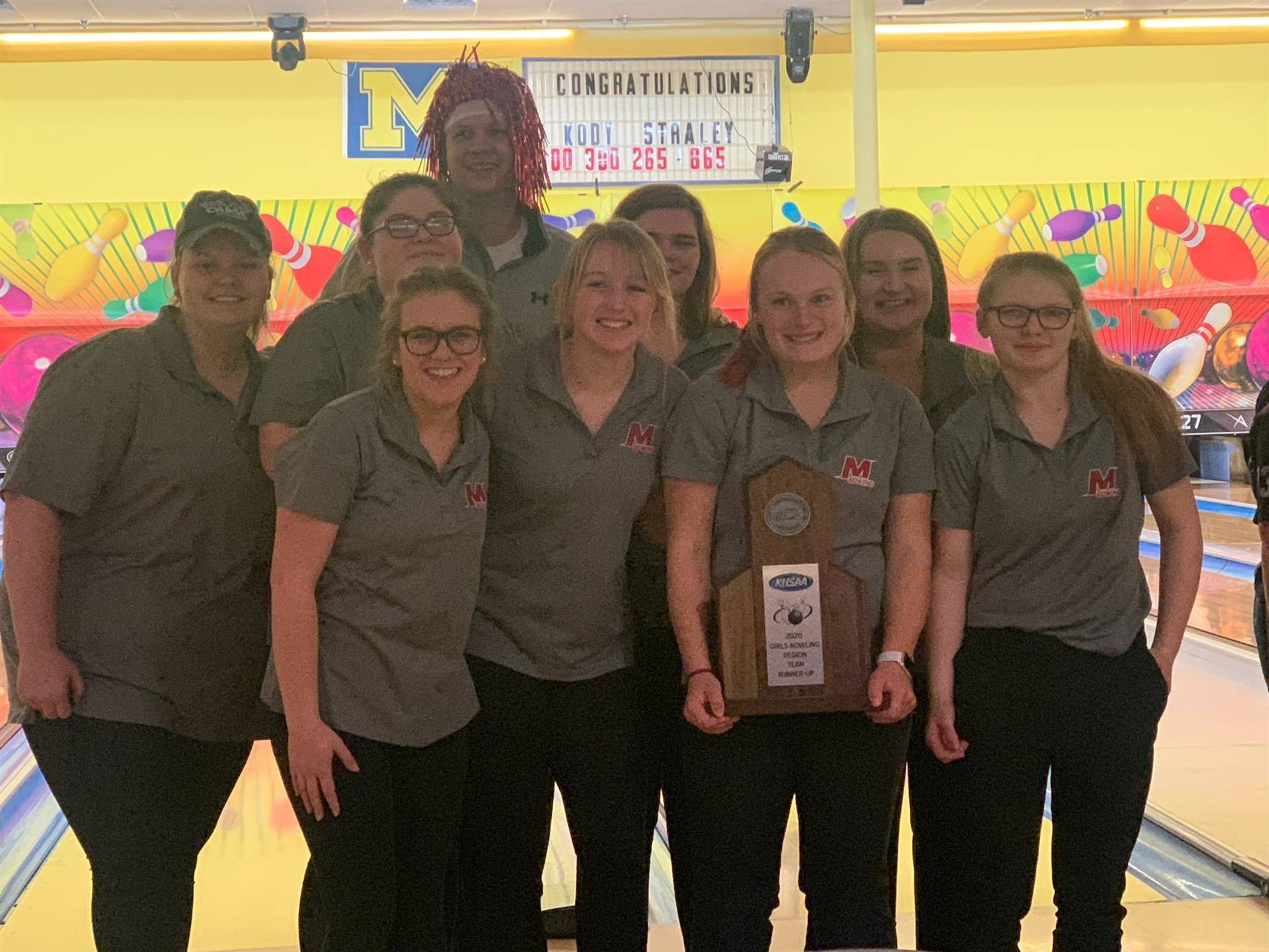 Mustangs Women's Bowling - 2020 Region Runner-Up!