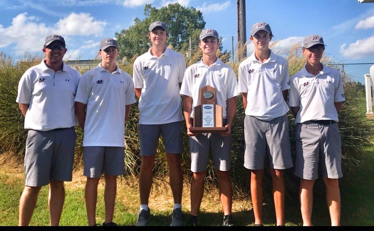 Mustangs Men's Golf - 2019 Region Runner Up!