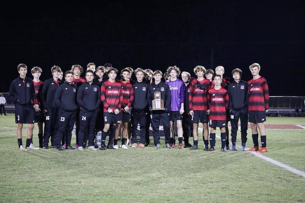 Mustangs Men's Soccer - 2019 Region Runner-Up!