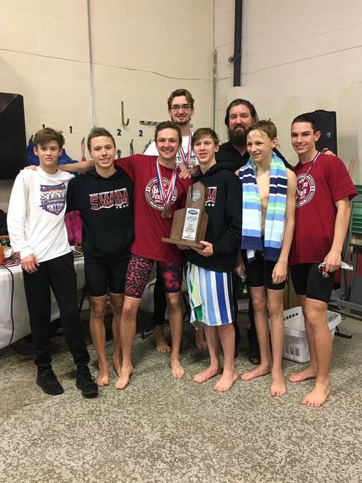 Mustangs Men's Swimming - 2020 Region Runner-Up!