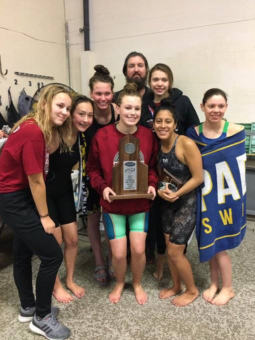 Mustangs Women's Swimming - 2020 Region Runner-Up!