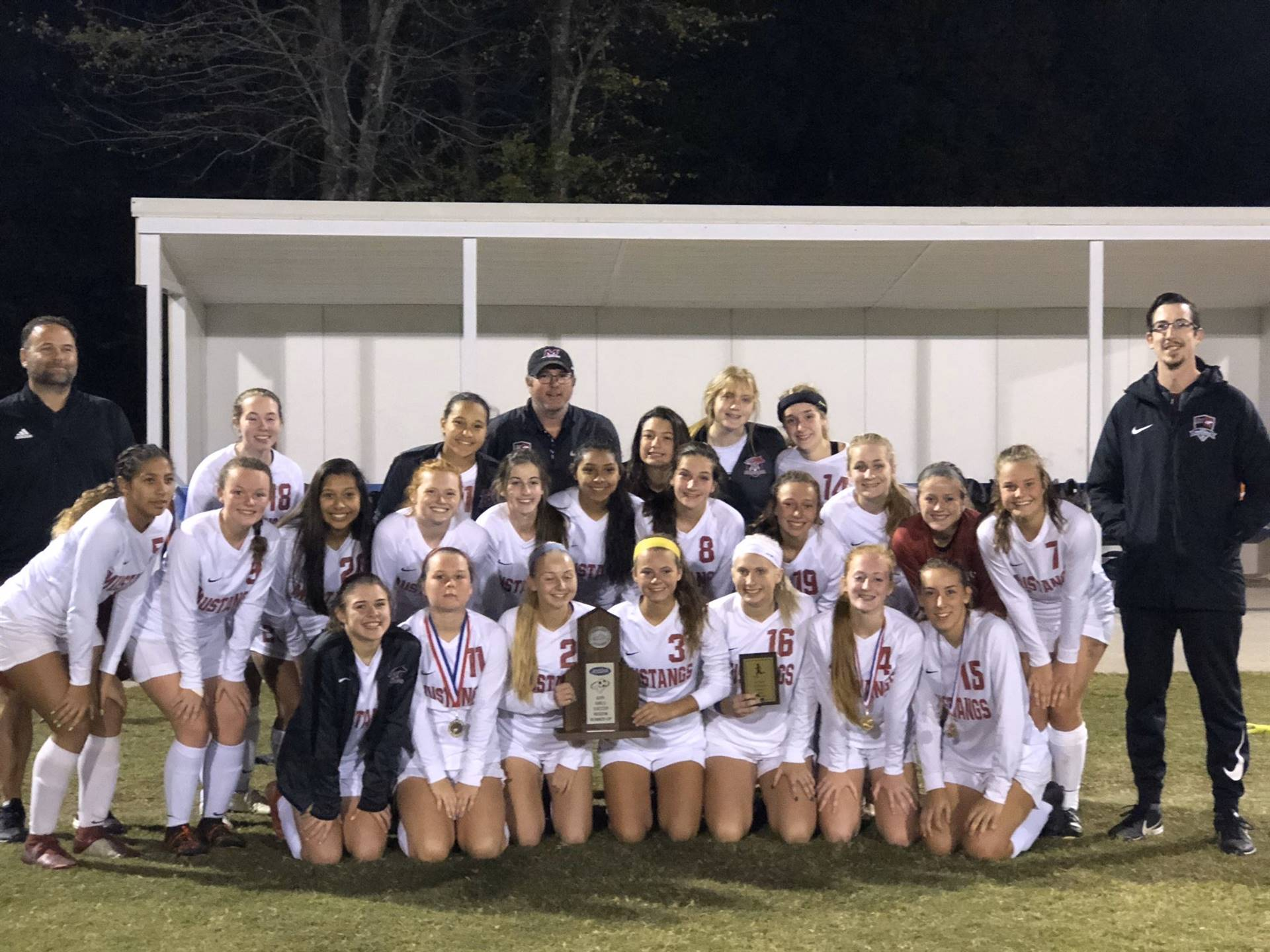 Mustangs Women's Soccer - 2019 Region Runner-Up!