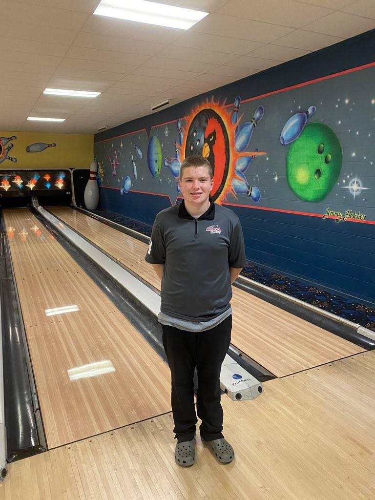 Mustangs Bowling - Elliot Wilson - 2021 Region Individual Champion!!