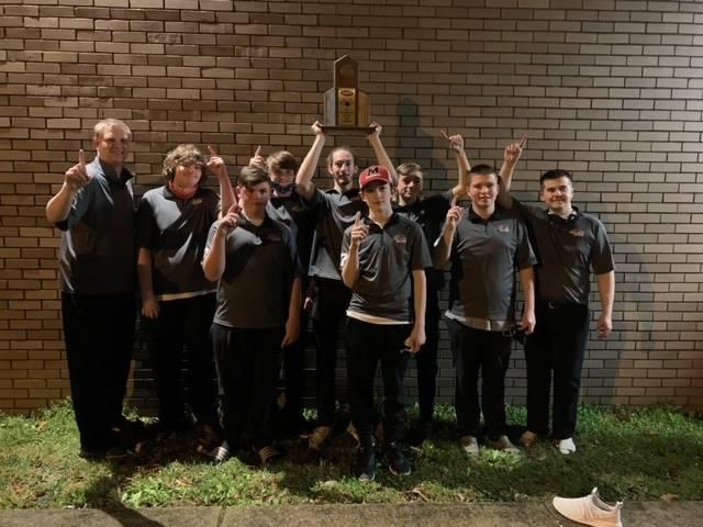 Mustangs Men's Bowling - 2021 Region Team Champions!