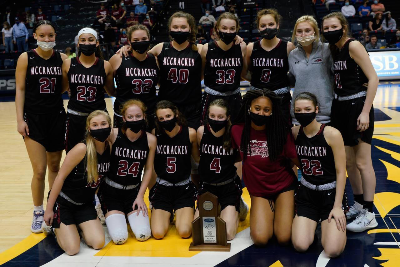 Mustangs Women's Basketball - 2021 Region Runner-Up!