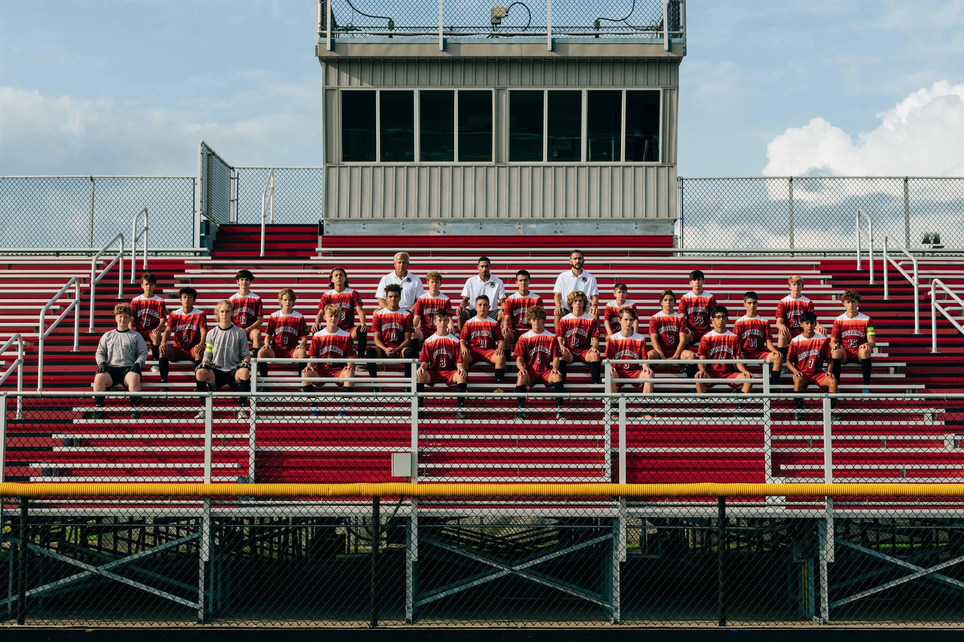 2020 Mustangs Men's JV Soccer