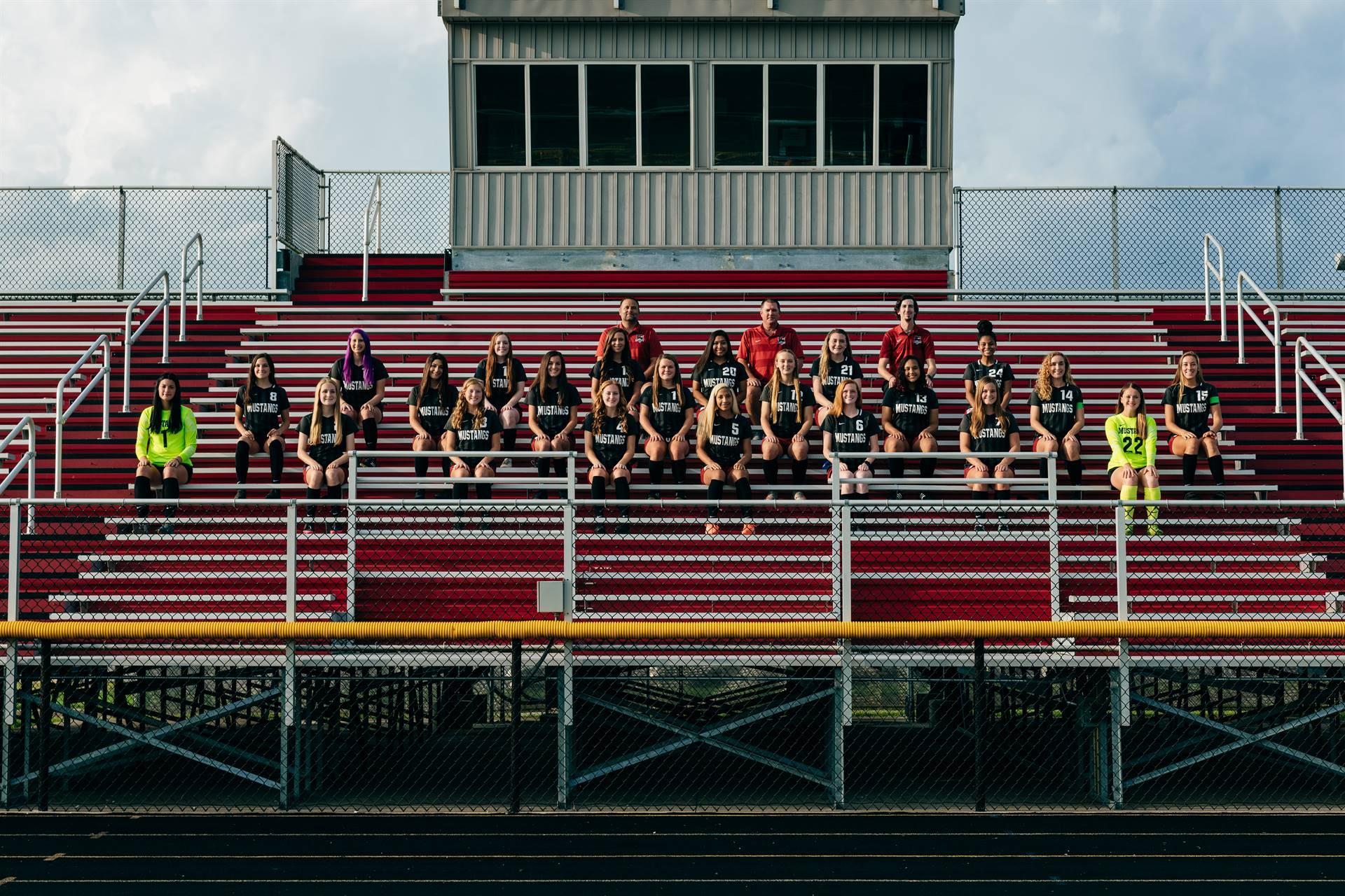 2020 Mustangs Women's Varsity Soccer