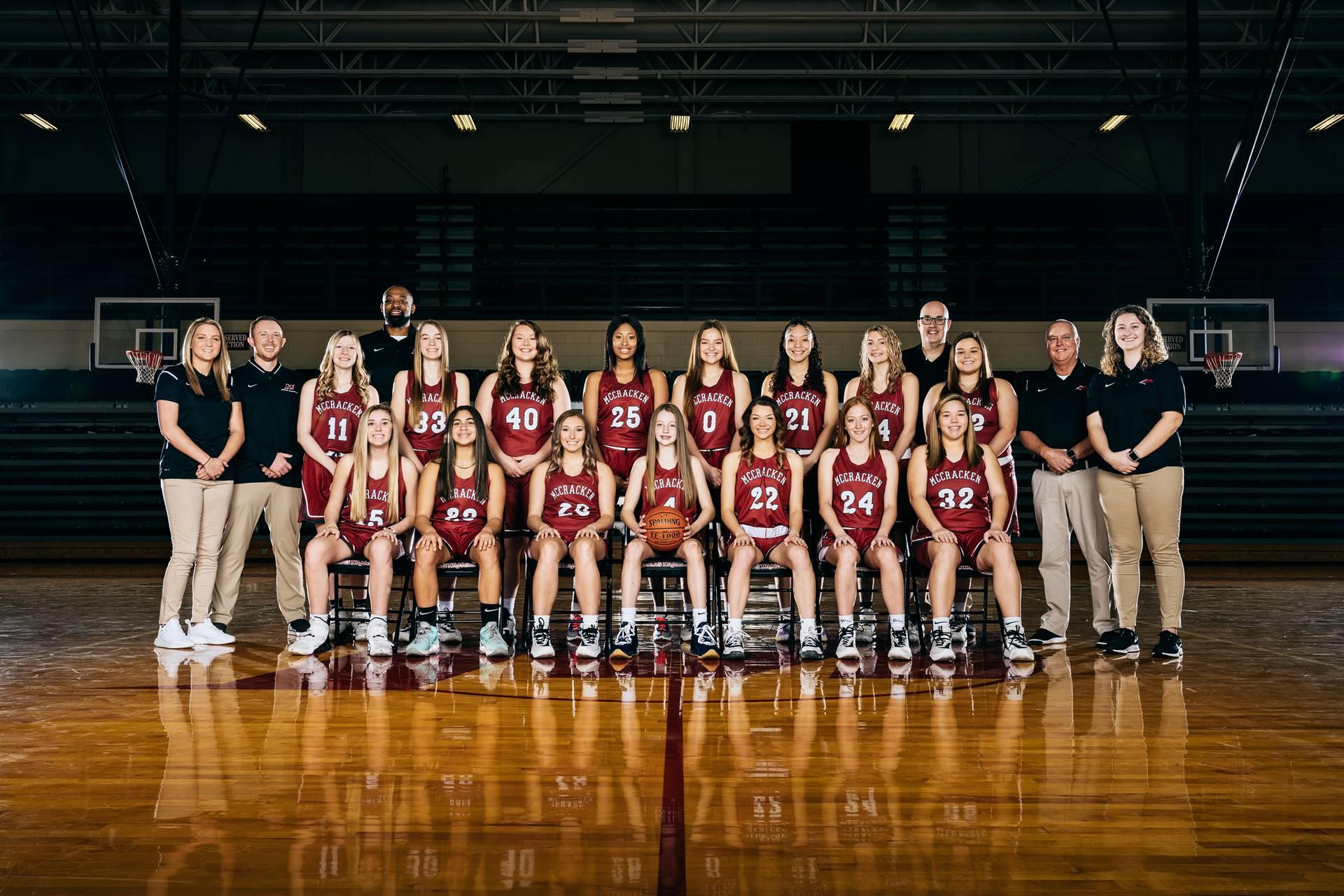 2020-21 Mustangs Women's Varsity Basketball