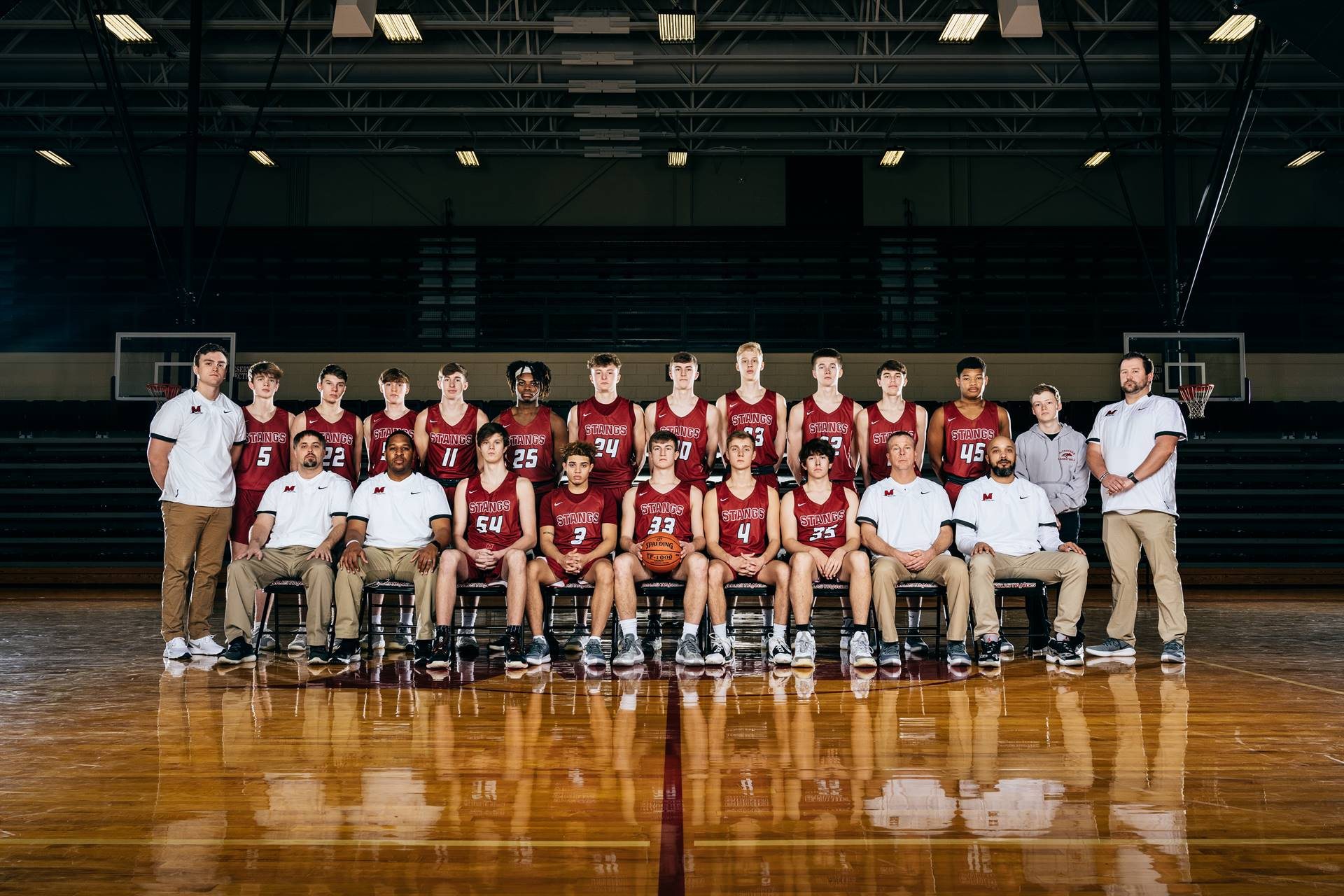 2020-21 Mustangs Men's Varsity Basketball