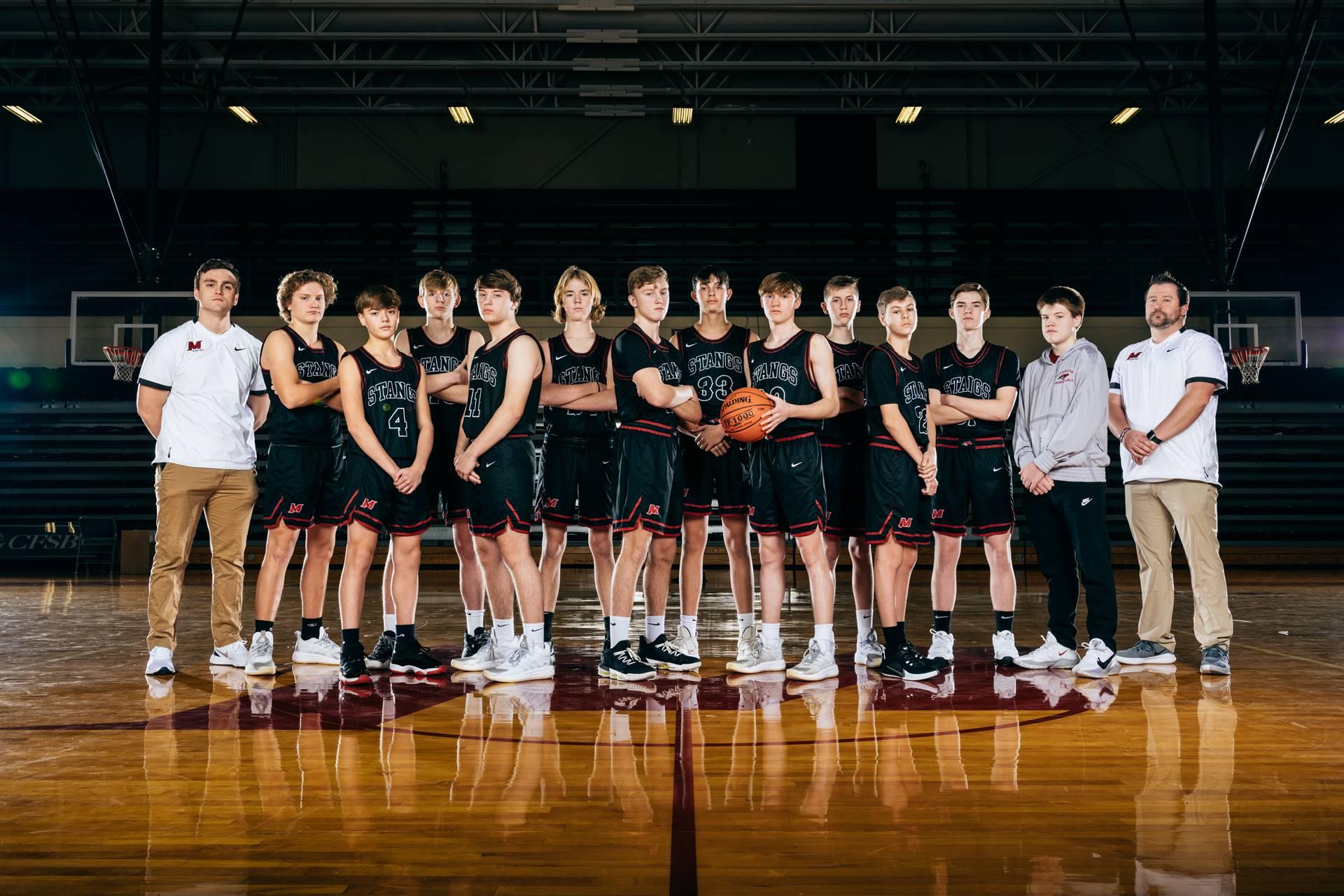 2020-21 Mustangs Men's FR Basketball
