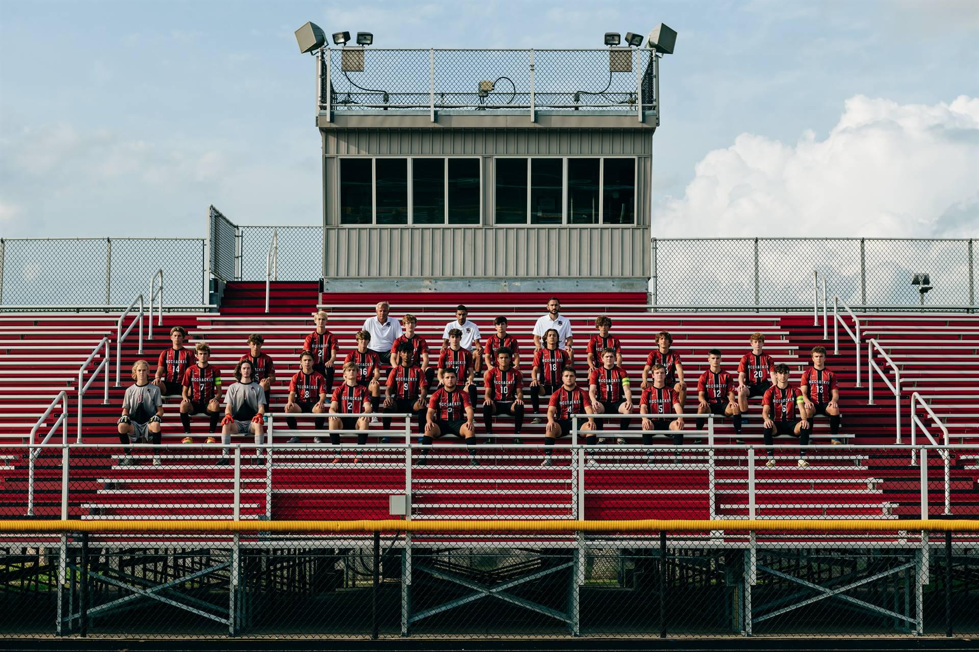 2020 Mustangs Men's Varsity Soccer