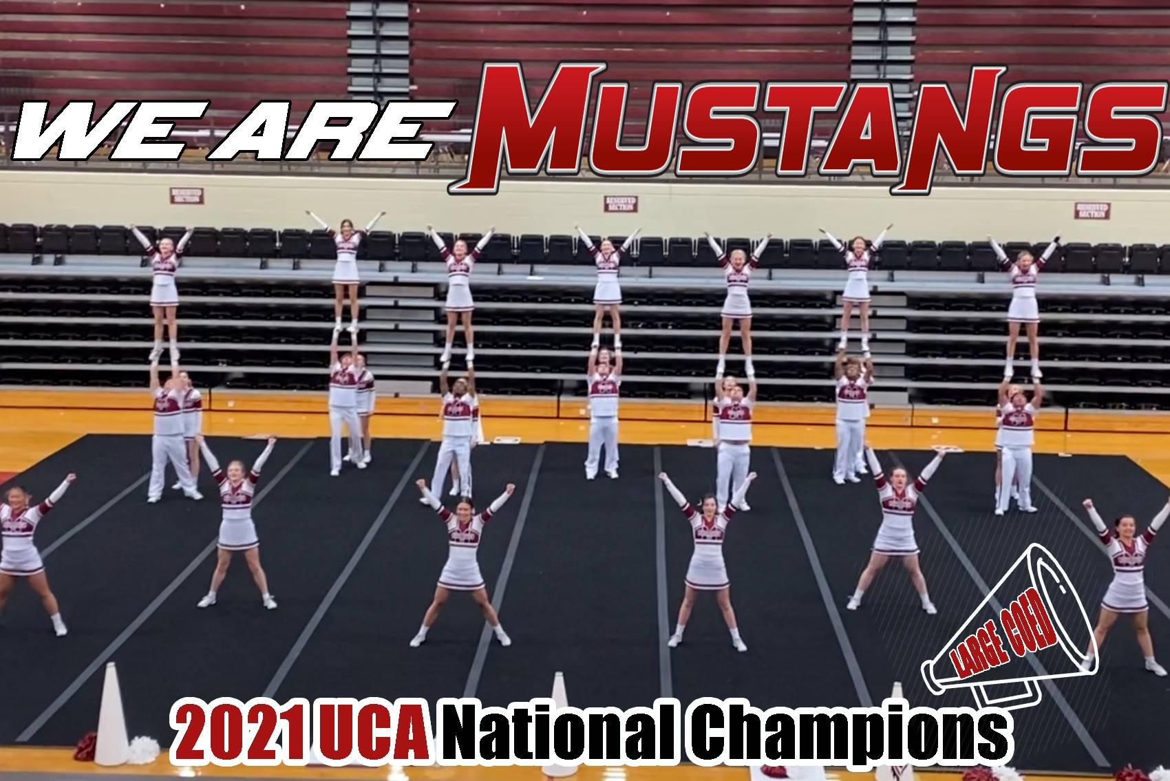 Mustangs Coed Cheer - 2021 UCA National Champions!!