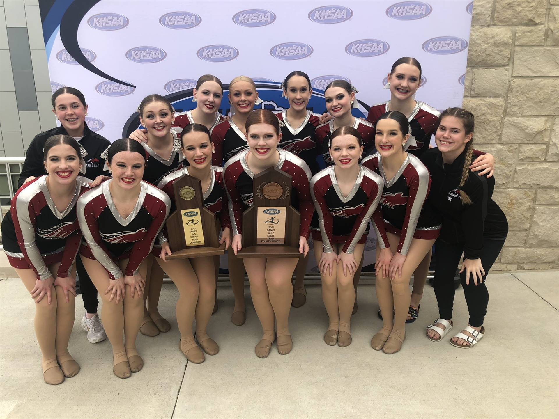 Mustangs Dance - 2021 KHSAA Jazz State Team 4th Place!