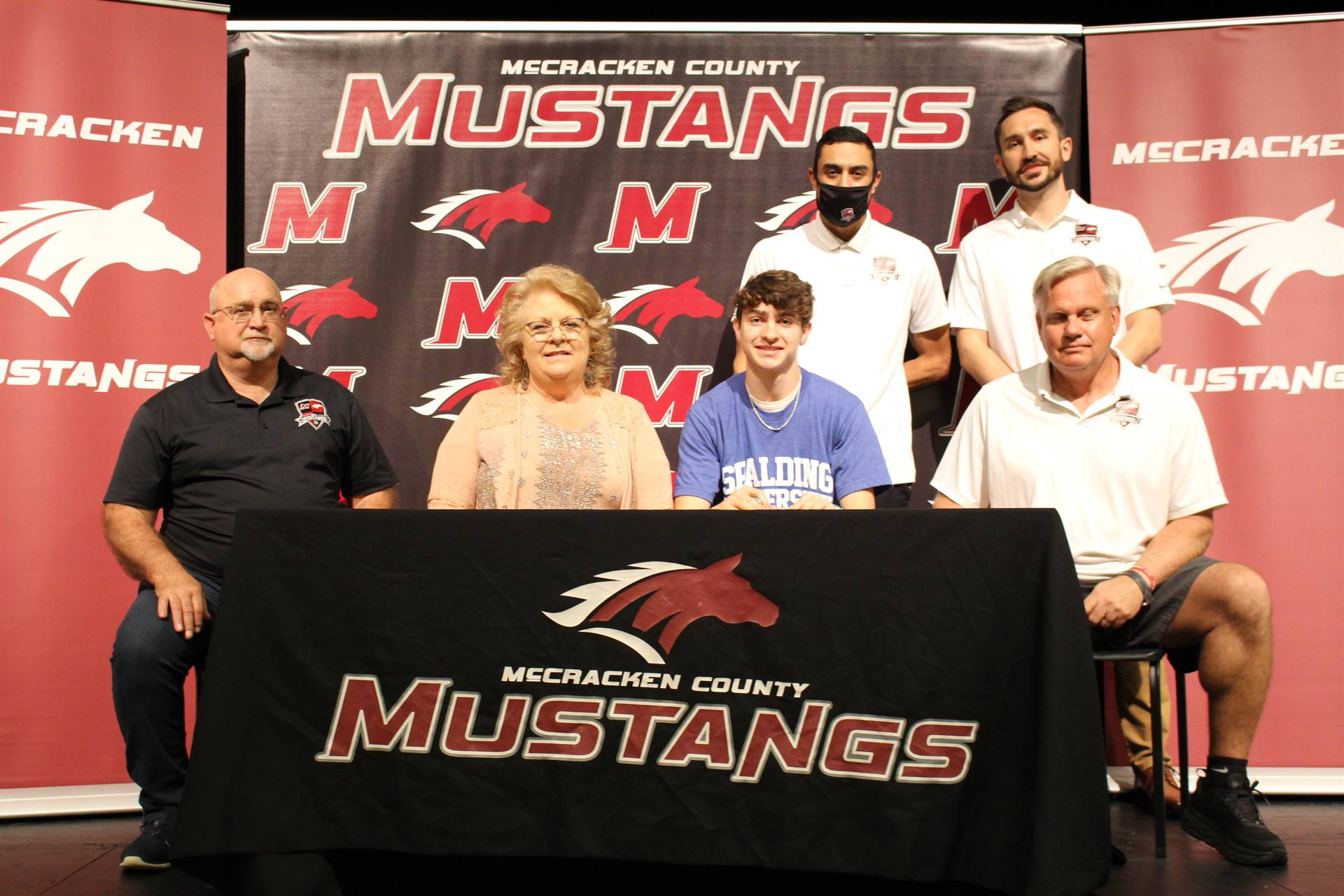 Reese Bohde signs with Spalding University to play soccer