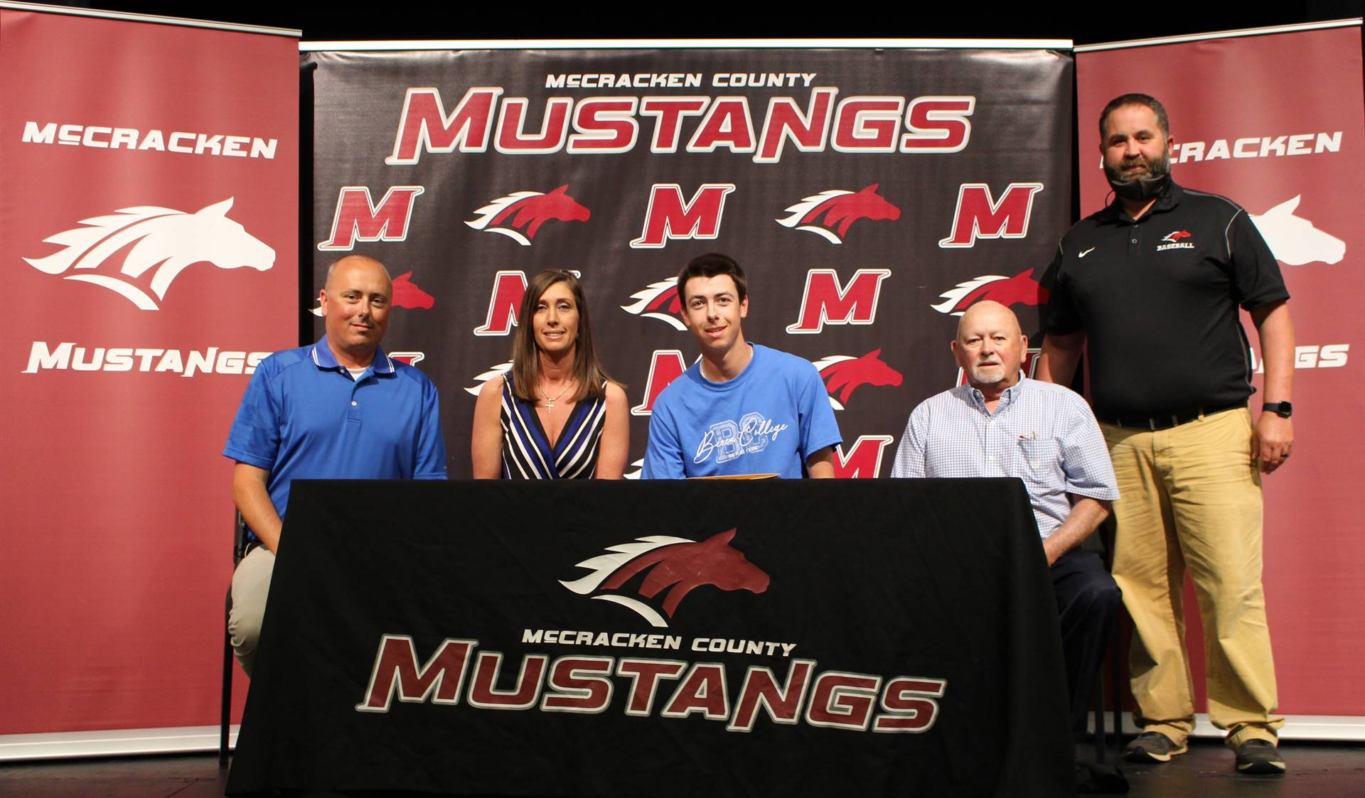 Austin Harper signs with Berea College to play baseball