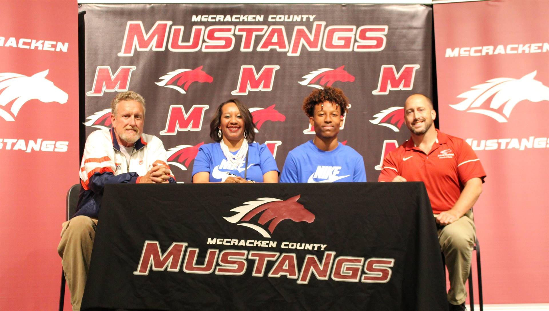 Donsten Brown signs with the University of Kentucky for Track and Field