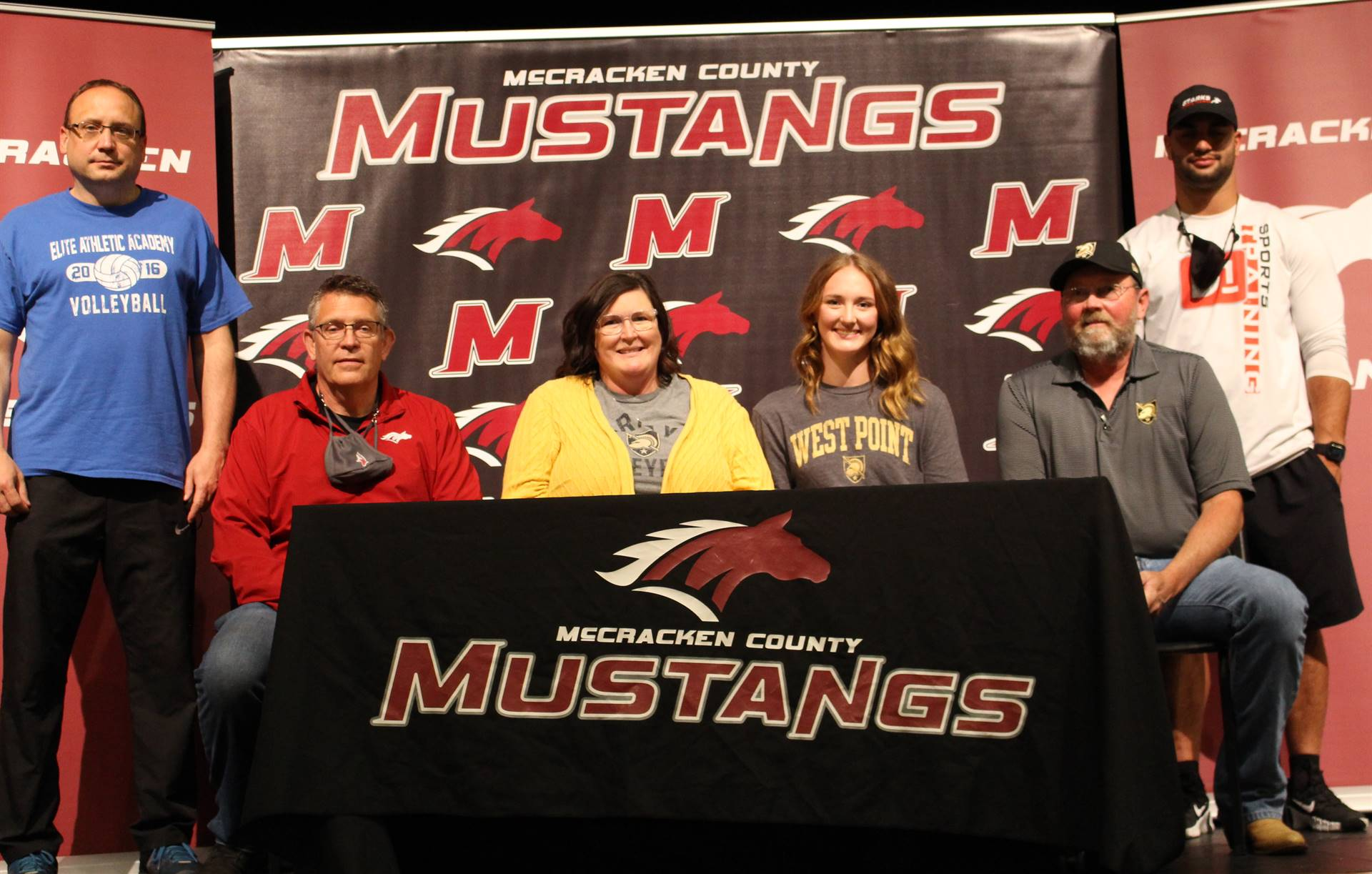 Jayda Harris signs with West Point to play volleyball