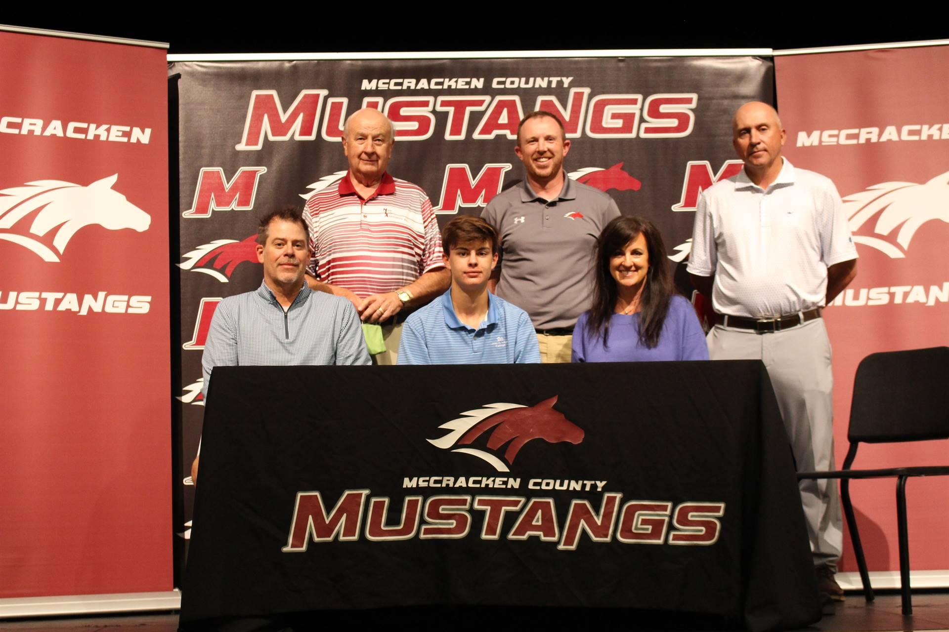 Garrett Rikel signs with John A Logan College to play golf
