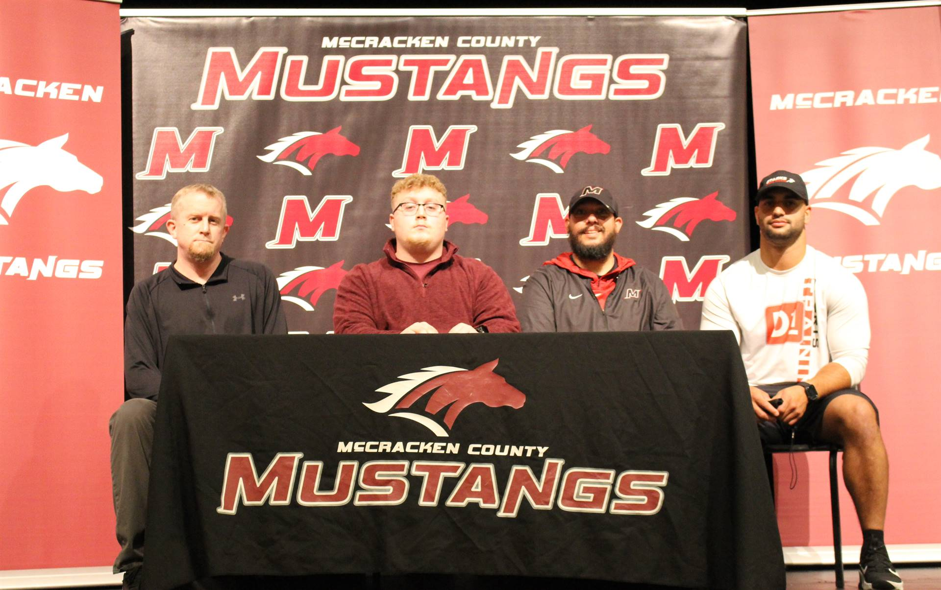 Gavin Trueblood signs with Campbellsville University to play football