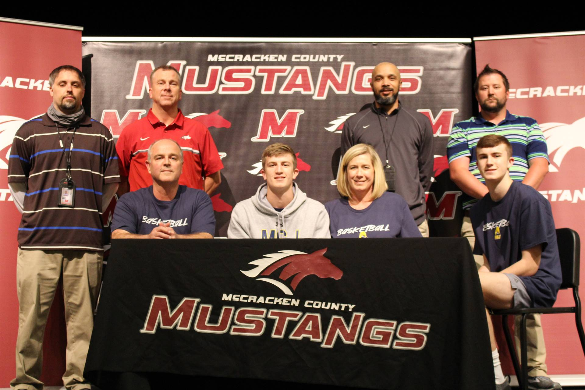 2020-21 - Ian McCune – Mount Saint Joseph University – Basketball
