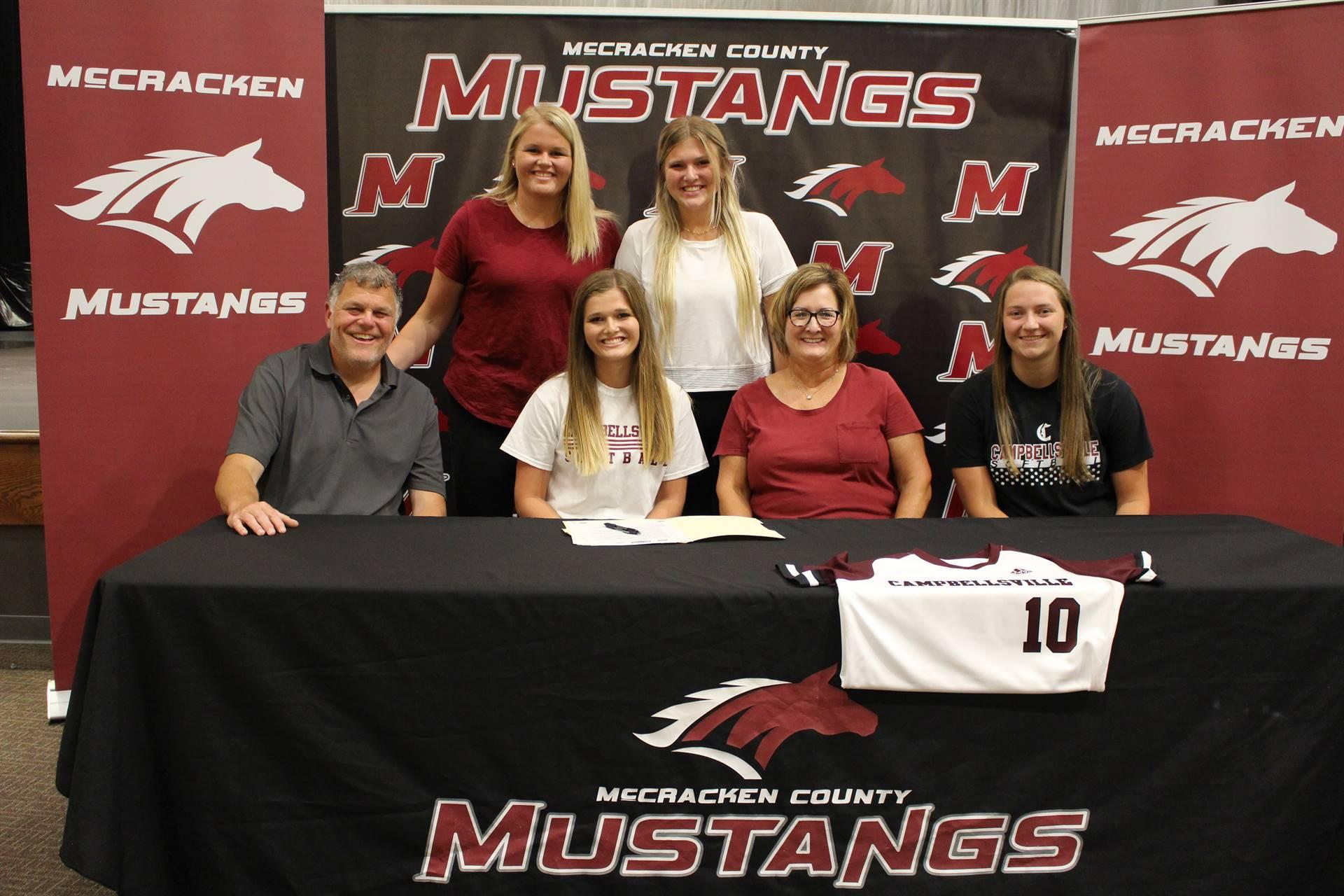 2020-21 - Ashby Murt - Campbellsville University - Softball